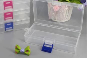 Organizer - Plastikowe pudełeczko 141x80x35mm - zamykany pojemniczek