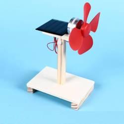Wentylator na energię słoneczną - DIY - Drewniana Zabawka Edukacyjna