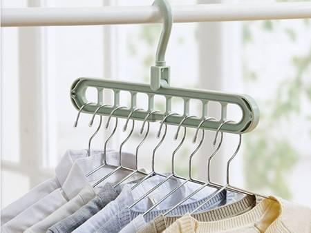 Organizer do szafy na wieszaki do odzieży - ubrania - 2 szt