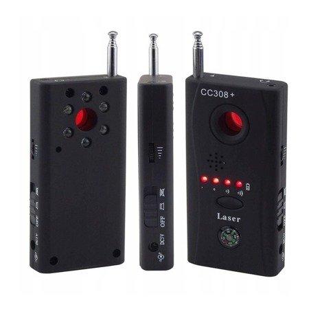 Wykrywacz Podsłuchów - CC308+ Detektor Kamer i Lokalizatorów - Anty-Szpieg